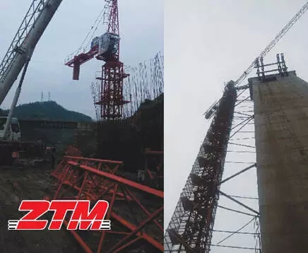 【塔式起重机型号施工案例】中天塔影·遵义|ztm