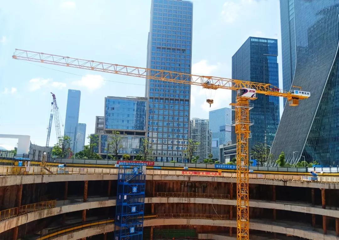 ZTM智能塔机助建ICBC最大总部大厦(深圳)
