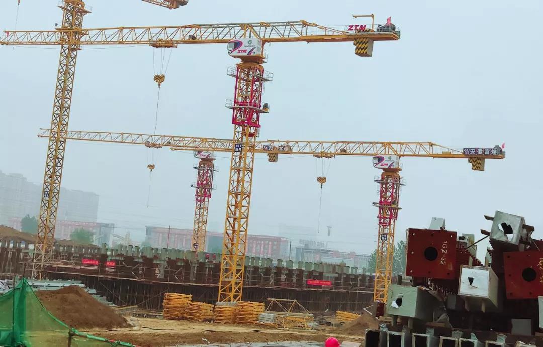 ZTM智能塔机助力安徽高装配率装配式建筑示范项目