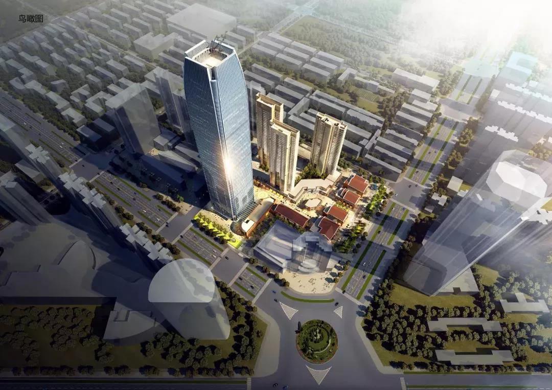 湖北工建携中天智能塔机建设武汉青山最高楼